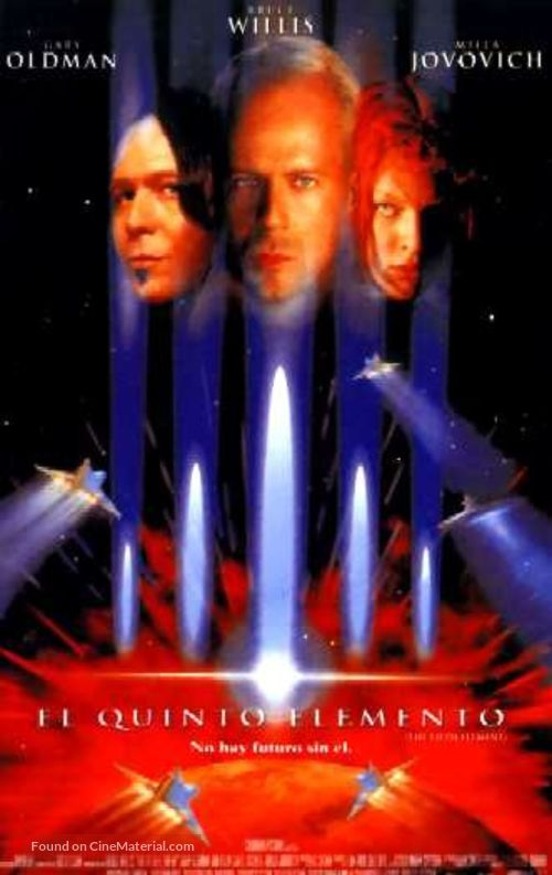 The Fifth Element - Spanish VHS cover