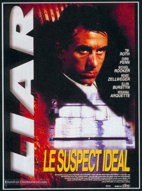 Deceiver - French Movie Poster