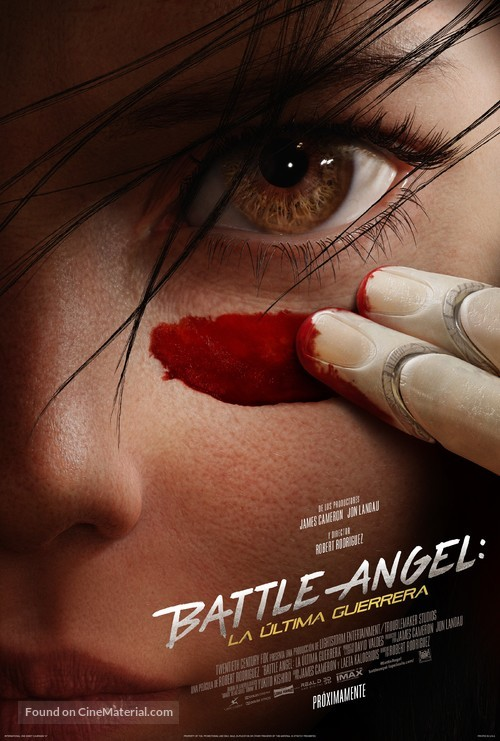 Alita: Battle Angel - Argentinian Movie Poster