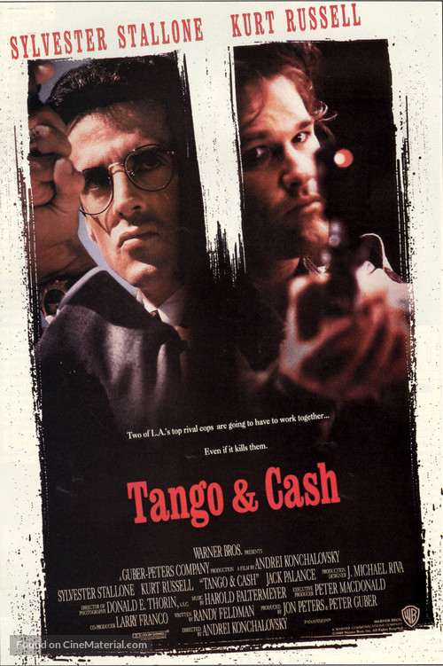Tango And Cash - Movie Poster