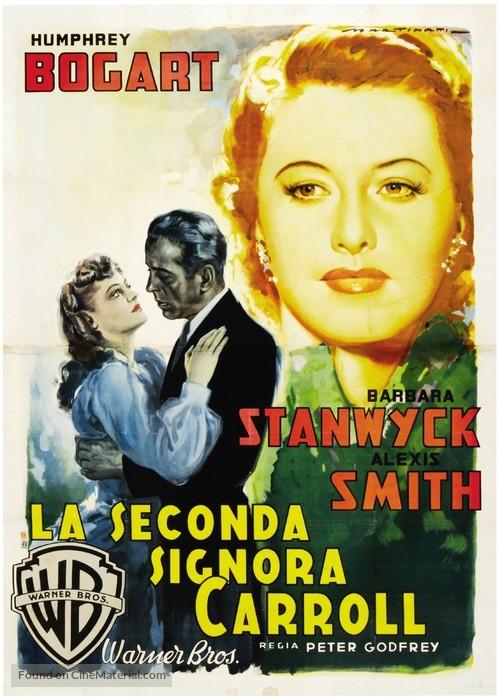 The Two Mrs. Carrolls - Italian Movie Poster