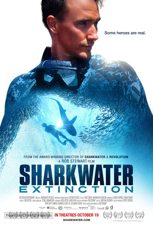 Sharkwater Extinction - Canadian Movie Poster