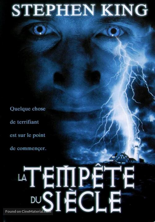 """""""Storm of the Century"""" - French DVD cover"""