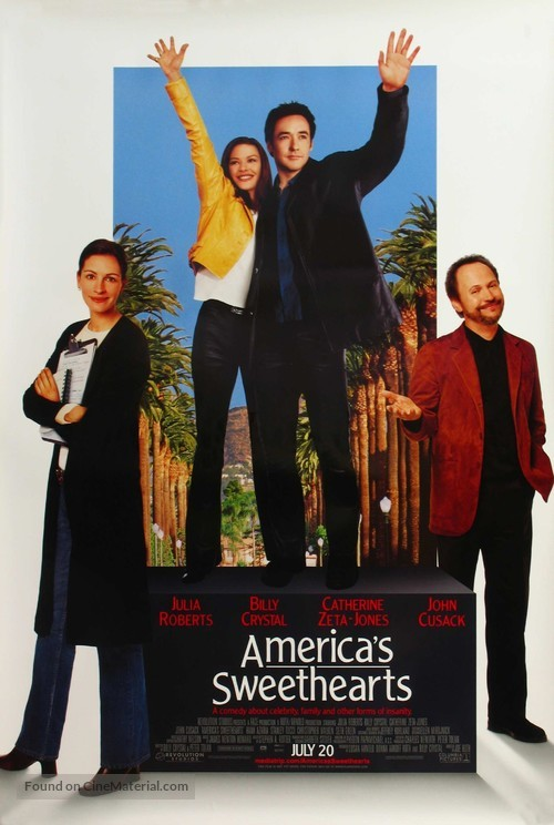 America's Sweethearts - Movie Poster