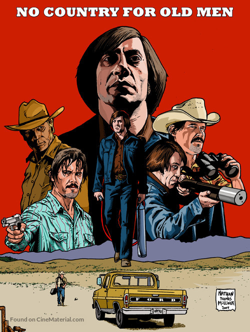 No Country for Old Men - poster
