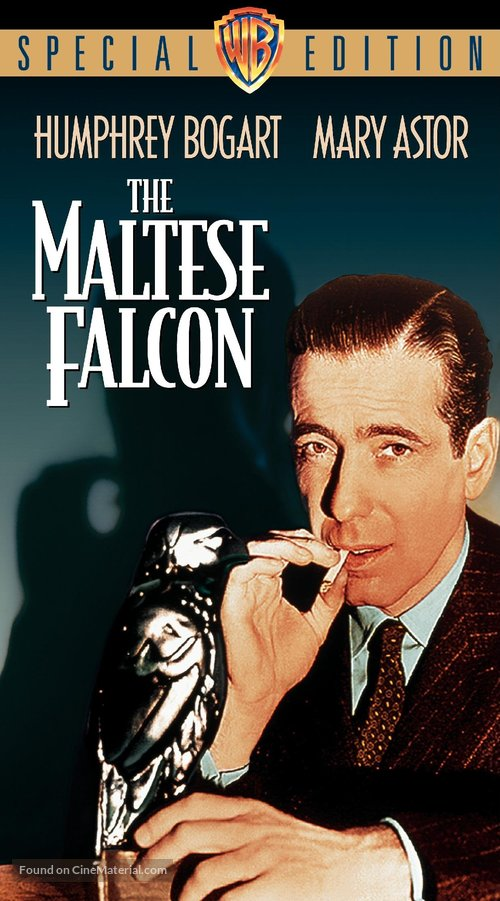 The Maltese Falcon - VHS cover