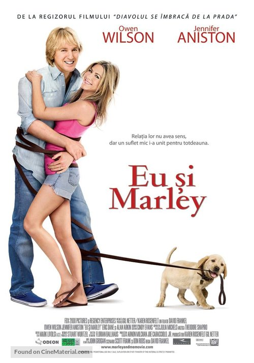 Marley & Me - Romanian Movie Poster