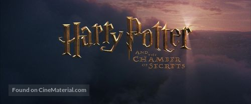 Harry Potter and the Chamber of Secrets - British Logo