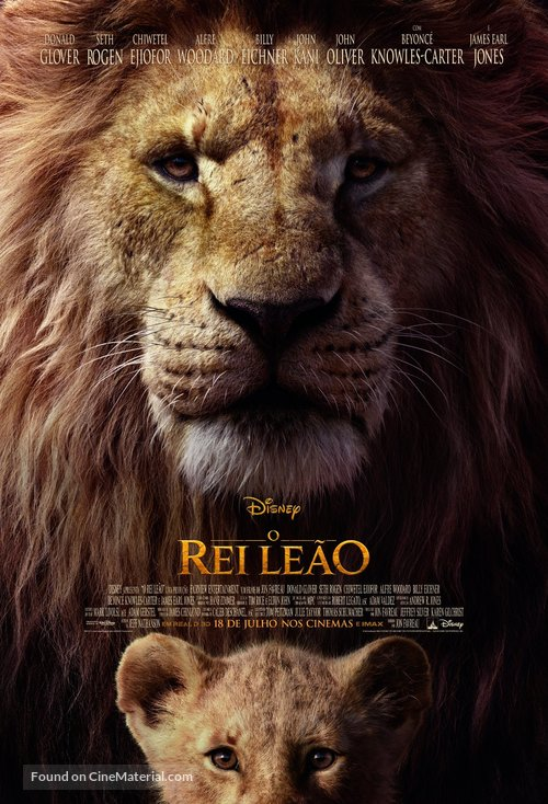 The Lion King - Brazilian Movie Poster