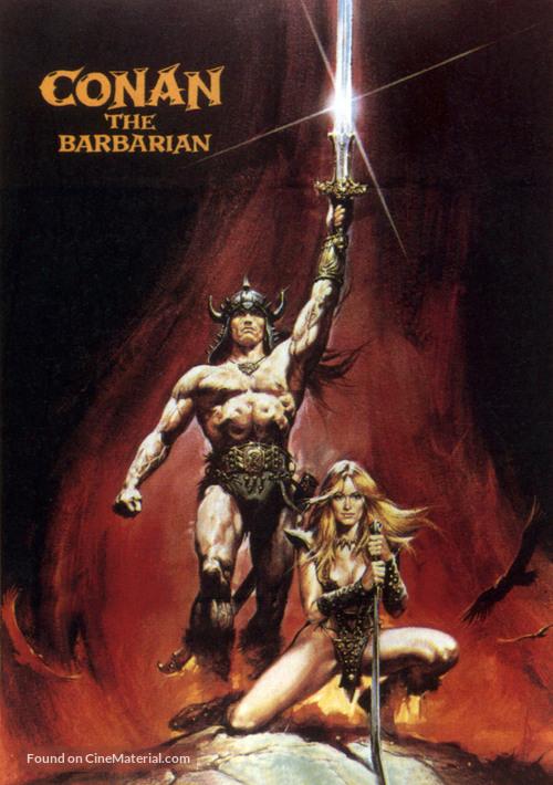 Conan The Barbarian - DVD cover