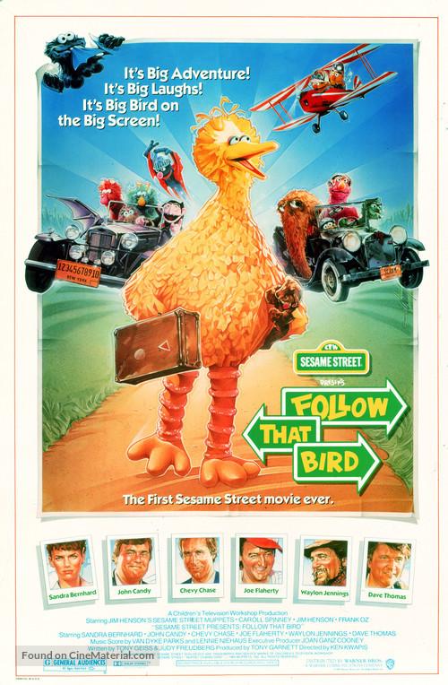 Sesame Street Presents: Follow that Bird - Movie Poster