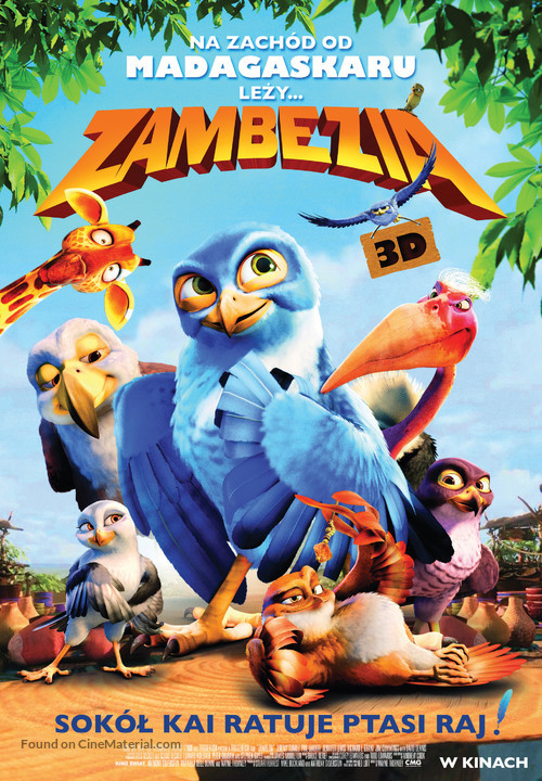Zambezia - Polish Movie Poster