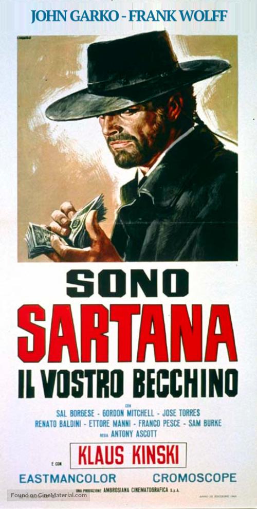 Sono Sartana, il vostro becchino - Italian Movie Poster