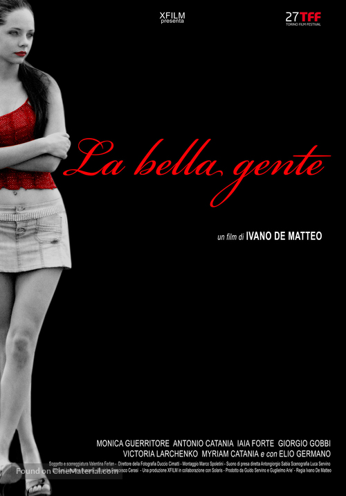 La bella gente - Italian Movie Poster