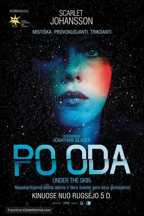 Under the Skin - Lithuanian Movie Poster