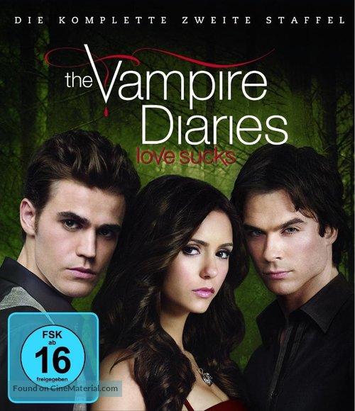 """The Vampire Diaries"" - German Blu-Ray movie cover"
