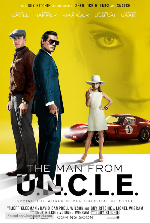 The Man from U.N.C.L.E. - Movie Poster