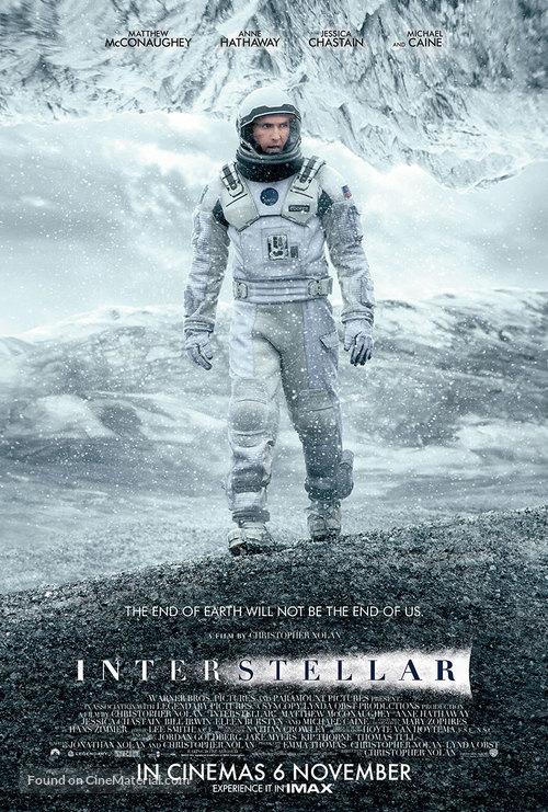 Interstellar - Singaporean Movie Poster