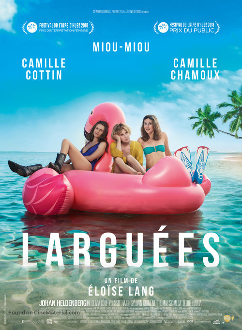 Larguées - French Movie Poster