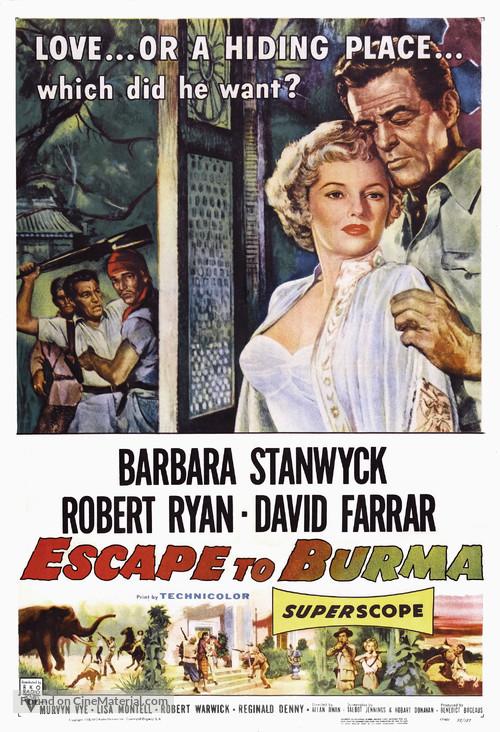 Escape to Burma - Movie Poster