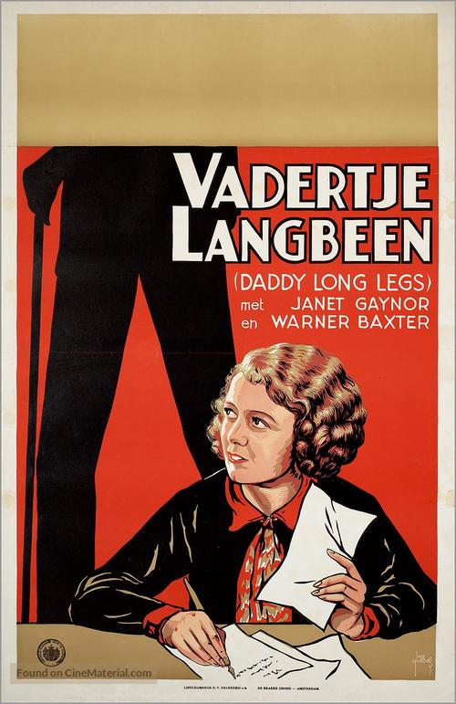 Daddy Long Legs - Dutch Movie Poster