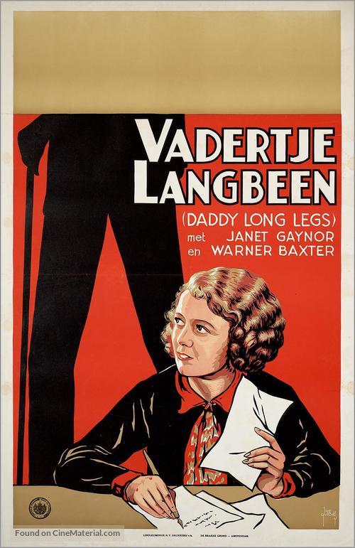 Daddy Long Legs - Dutch Movie Poster