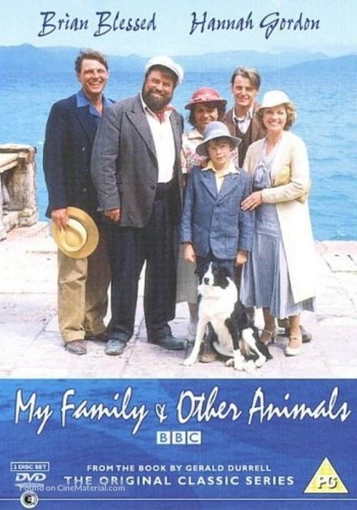 """My Family and Other Animals"" - British Movie Poster"