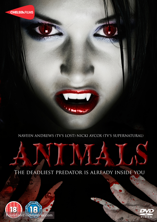 Animals - British DVD cover