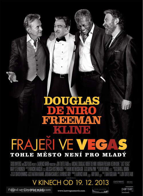 Last Vegas - Czech Movie Poster