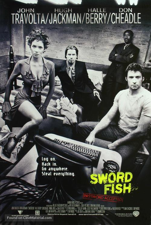 Swordfish - Movie Poster