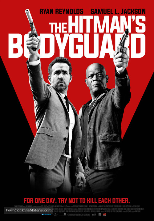 The Hitman's Bodyguard - Dutch Movie Poster