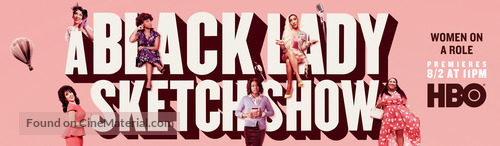 """A Black Lady Sketch Show"" - Movie Poster"
