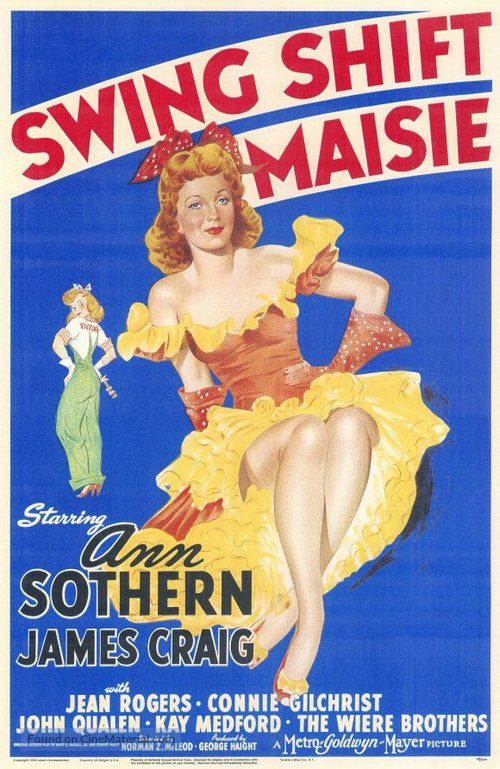 Swing Shift Maisie - Movie Poster