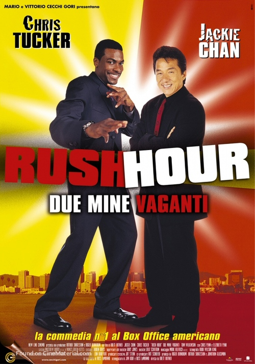 Rush Hour - Italian Movie Poster
