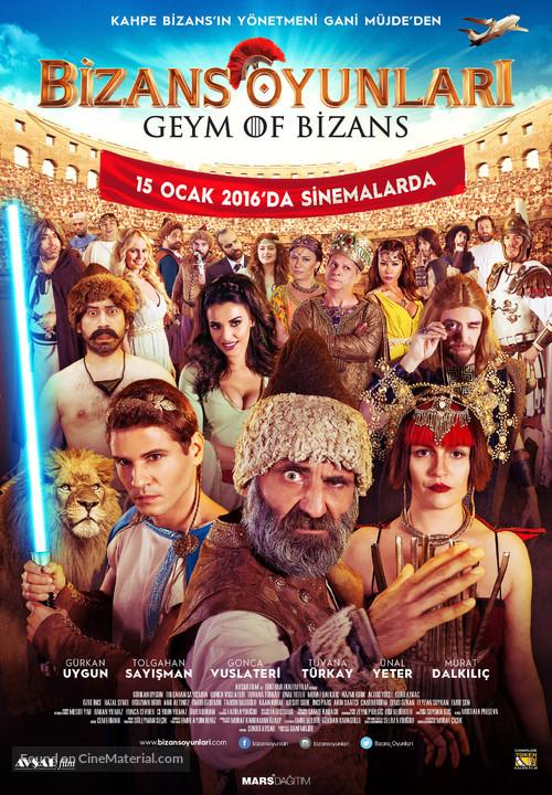 Bizans Oyunlari - Turkish Movie Poster