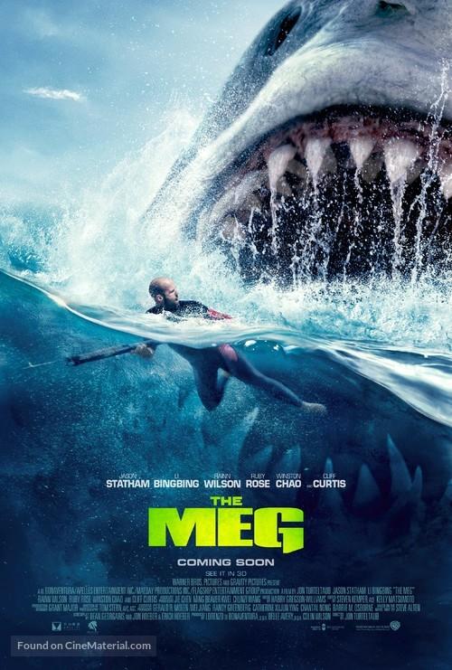 The Meg - British Movie Poster