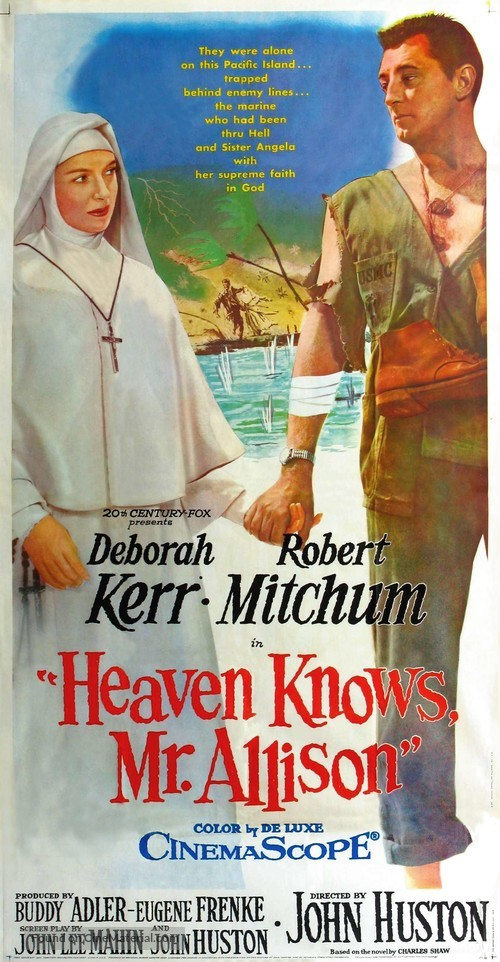Heaven Knows, Mr. Allison - Movie Poster