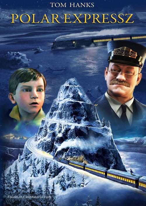 The Polar Express - Hungarian Movie Poster