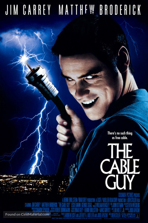 The Cable Guy - Movie Poster