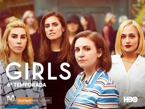 """Girls"" - Spanish Movie Poster"