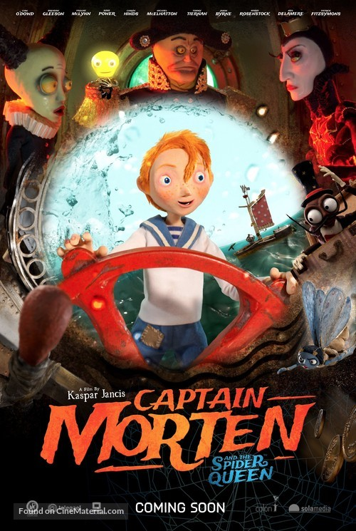 Captain Morten and the Spider Queen - British Movie Poster