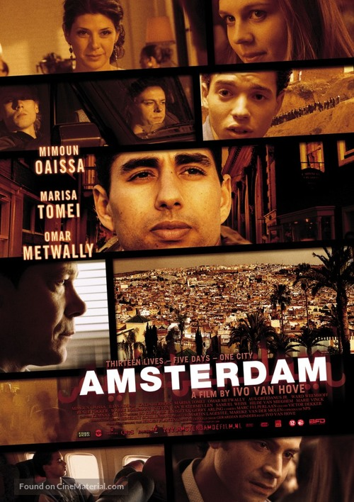 Amsterdam - Dutch Movie Poster
