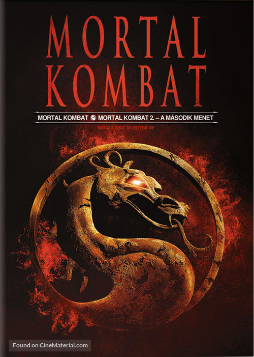 Mortal Kombat - Hungarian DVD cover