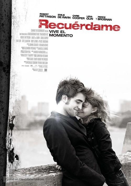 Remember Me - Spanish Movie Poster