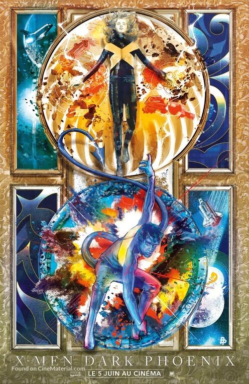 X-Men: Dark Phoenix - French Movie Poster