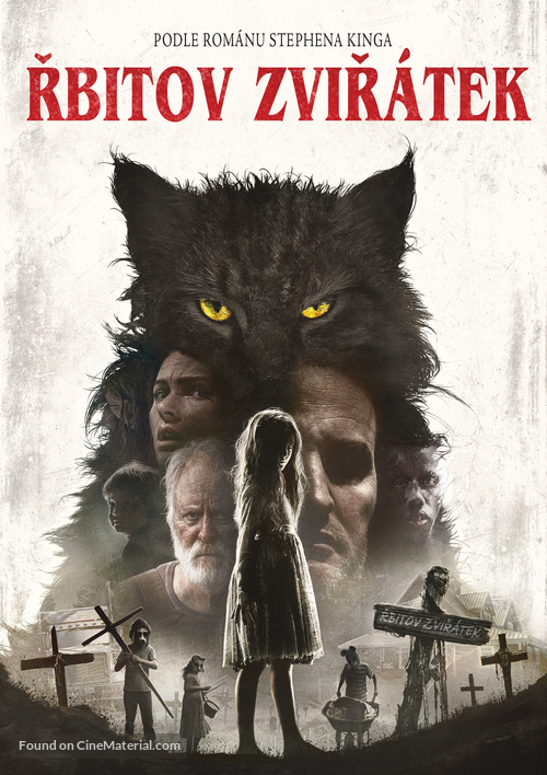Pet Sematary - Czech DVD movie cover
