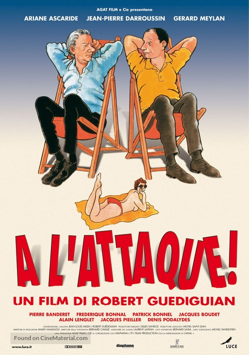À l'attaque! - Italian Movie Poster