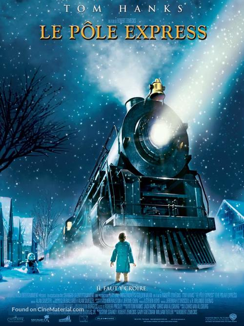 The Polar Express - French Theatrical movie poster