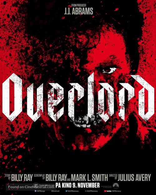 Overlord - Norwegian Movie Poster