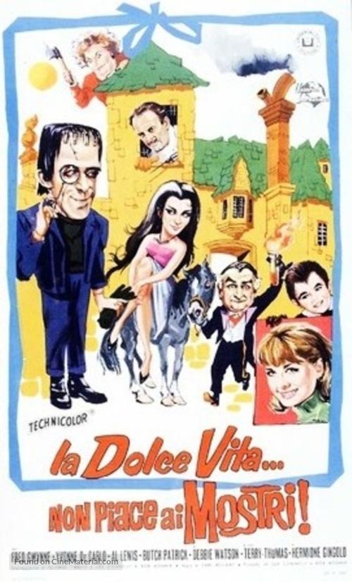 Munster, Go Home - Italian Movie Poster